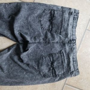 Mudd Jeans - Grey Stonewash high waisted jeggings size 17